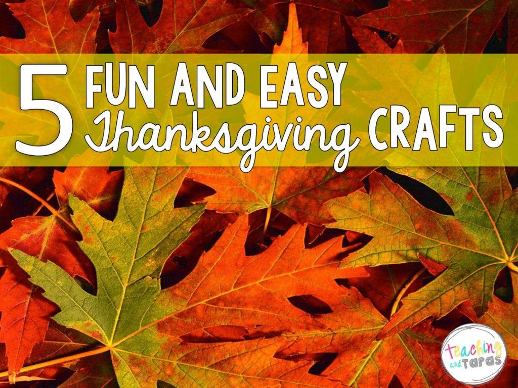 Thanksgiving Art Project For Third Grade